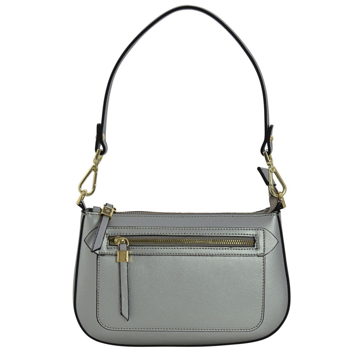 70dccc9fb67c3 ALLEGRA Henkeltaschen Schultertaschen Handtaschen Tasche Damen Echtes Leder  Made in Italy